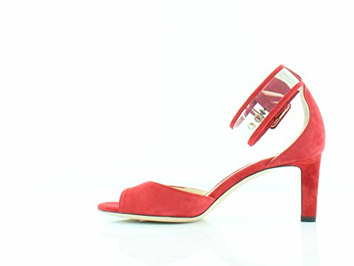 Tacchi Donna Jimmy Choo Moscow Rosso / Trasparente