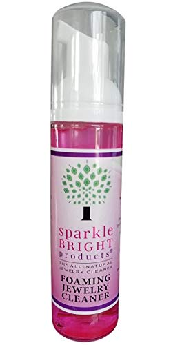 (Sparkle Bright All-Natural Jewelry Cleaner Solution - Jewelry Cleaning for Ultrasonic, Diamonds, Fine, Costume, and Designer Jewelry (A5a))
