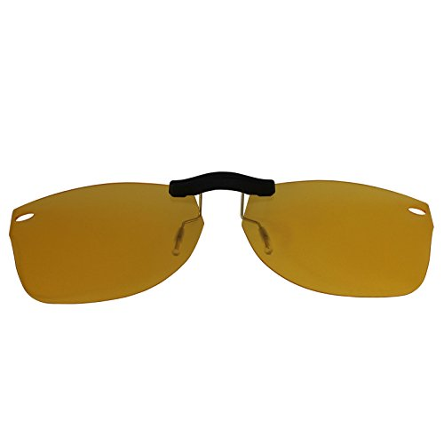 2ce1d23a1d2 Custom Polarized Clip On Sunglasses for Ray-Ban RB5184 (RX5184) 52X18 (No  Frame) night vision Yellow - Buy Online in Oman.