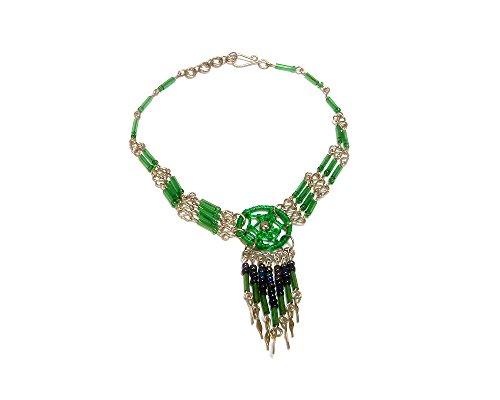 Green Beaded Dangle - 3