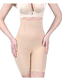 Women's Hi-Waist Body Shaper Butt Lifter Shapewear Trainer Tummy Control Panties Seamless Thigh Slimmers Cincher