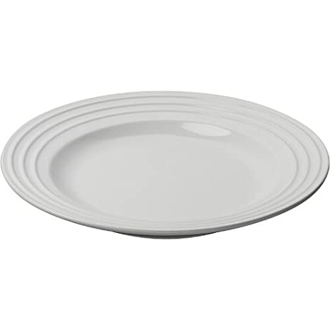 Le Creuset Stoneware 12-Inch Dinner Plate White  sc 1 st  Amazon.com & Amazon.com | Le Creuset Stoneware 12-Inch Dinner Plate White ...