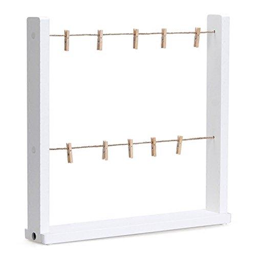 Picture Frames Solid wood desktop photo frame clothesline st