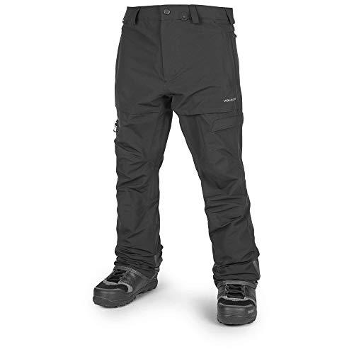 (Volcom Men's GI Snow Fatigue Fit Pant, Black Large)