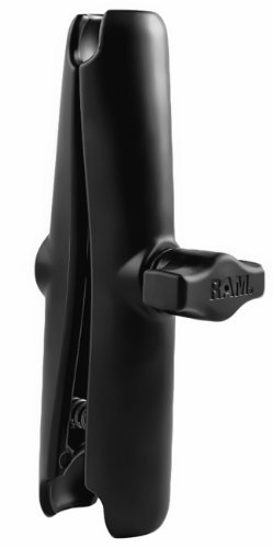 Ball Ram (RAM Mounts RAM Long Double Socket Arm for 1 Ball Bases RAM-B-201U-C)