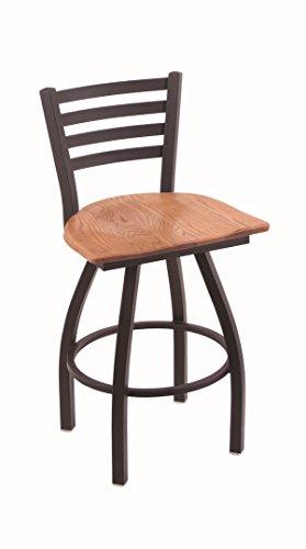 Holland Bar Stool Co. XL 410 Jackie Black Wrinkle Swivel Counter Stool, Medium ()