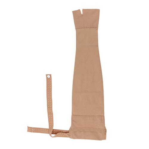 Prettyia Post Mastectomy Compression Right Arm Sleeve Anti Swelling Edema Glove Great for Women a Recover Period After Breast Operations - XXL