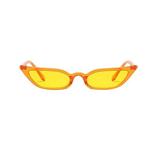 Cat Eye Sunglasses for Women,Tigivemen Vintage 性感 Small Frame Eyewear UV400 ()