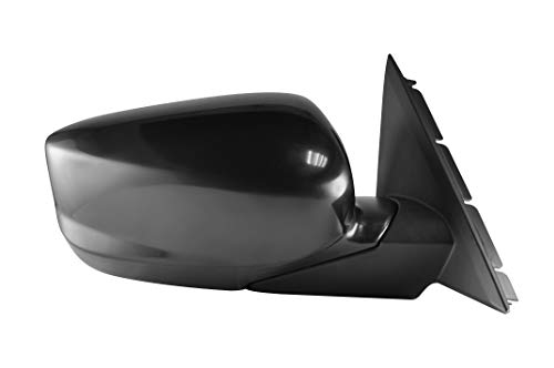 Honda Side View Mirrors - Passenger Side Unpainted Side View Mirror for 2008-2012 Honda Accord