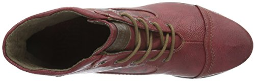 Stivaletti Da Donna Mustang Rossi, (rot-kombi) 1187-509-5 Rosso - Rot (5 Rot)