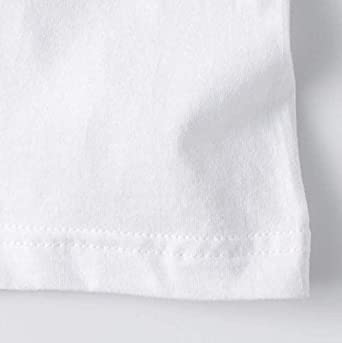 Short Sleeve Crewneck Tees YCY HOT MART Baby Girls T-Shirt Child 100/% Organic Cotton