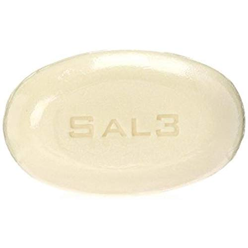 SAL3 Salicylic Acid Sulfur Soap Bar - Special Wash: Acne, Dandruff, Smelly Scalp and Body,Tinea Versicolor, Oily Skin, Itch, Anti-fungal