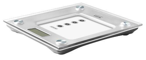 Tefal Atlantis - Báscula de baño, hasta 160 kg, graduación 100 gr, pantalla LCD, 4 memorias: Amazon.es: Salud y cuidado personal