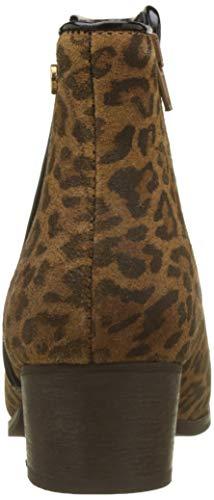 Botines Leopard Le Marrón leopard Cerises Para Zoe Des Mujer Temps PZZqwIOT