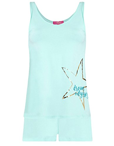 de Aqua azul pijama Gods de The marino L2007u mujer para pijama Un nXwOfxqtY