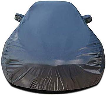 マツダCX-3、ヘビーデューティスクラッチ証拠耐久カーカバー、防水雨防塵自動車屋内屋外と互換性通気性の良いフルカーカバー、 (Color : Black)
