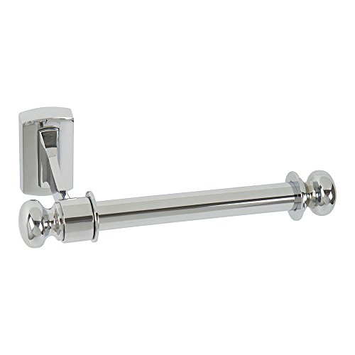Atlas Homewares LGTP-CH Legacy Collection 7-Inch Toilet Paper Bar, Polished Chrome (Knobs Brass Legacy)