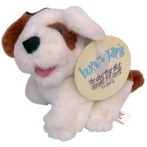 MultiPet Look Who is Talking Dog Plush 6'' Size:Pack of 2
