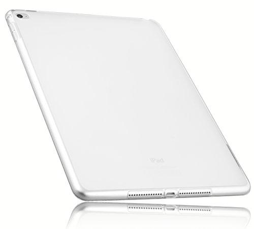 mumbi Schutzhülle iPad Air 2 Hülle transparent weiss