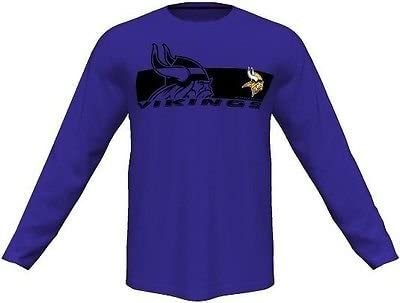 Minnesota Vikings Mens Long Sleeve Synthetic Storm Shirt Purple Big   Tall  Sizes ... 03f1b03ad