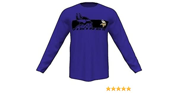 Amazon.com   Minnesota Vikings Mens Long Sleeve Synthetic Storm Shirt  Purple Big   Tall Sizes (2X)   Sports   Outdoors 873e522da