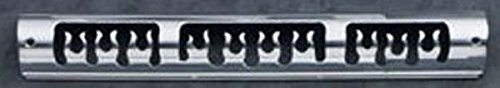 All Sales 54015P Polished Billet Aluminum Third Brake Light Cover - Flames