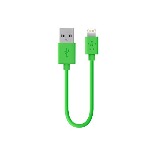 (Belkin Apple Certified MIXIT Lightning to USB Cable, 6 inches (Green))