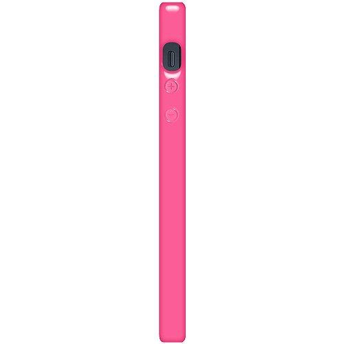 Amzer Glänzende TPU-Schutzhülle für Apple iPhone 5, Hot Pink