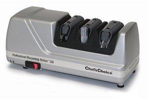 Premium Superior Quality Chef's Choice 130 Professional Knife-Sharpening Station Platinum
