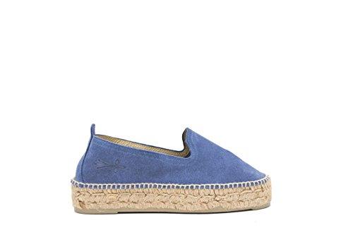 K 1 Jeans Fille Bleu 3 Espadrilles MANEBI Hamptons HwY1OX