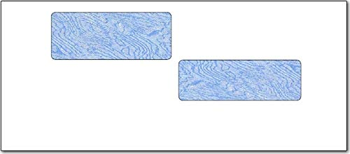 - #10 Double Window Envelope - ADP Tinted Security