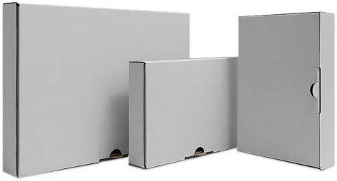 240mm Breite:160mm H/öhe:45mm ST/ÜCKZAHL W/ÄHLBAR! 200 St/ück Maxibrief-Kartons WEI/ß L/änge