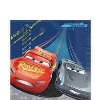 Disney/Pixar CARS 3 - Details & Downloadable Activity Sheets #Cars3 - Cars 3 Lunch Napkins 16 count