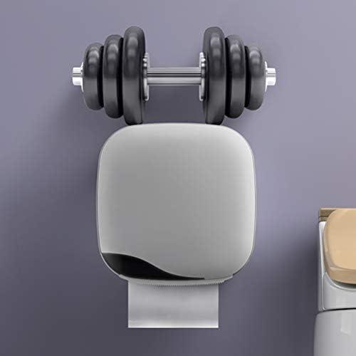 防水トイレットペーパーホルダー、ウォールマウントトイレットペーパートレイロールティッシュチューブホームバスルーム収納ボックスオーガナイザー、住宅およびアパート用