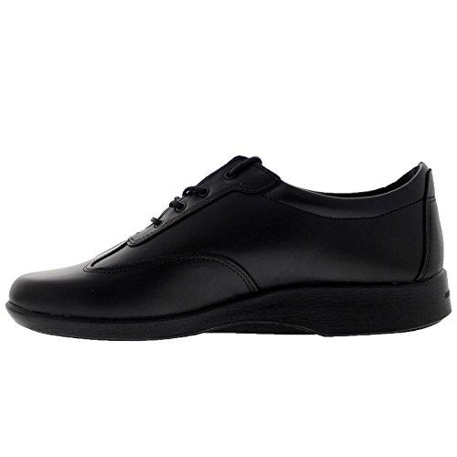 Active Womens Leather Arcopedico Noir Shoes f6qawa8z4