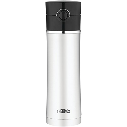 (Thermos Sipp 16-Ounce Drink Bottle, Black)