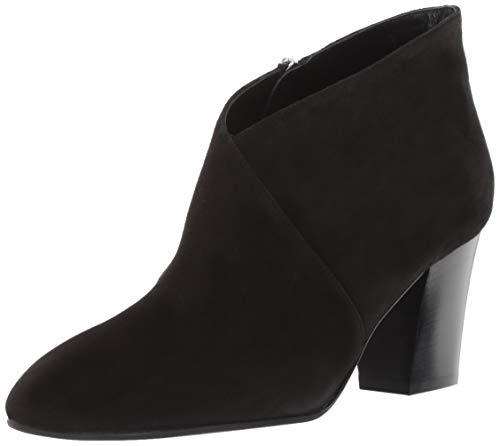 Aquatalia Women's Emiliana Dress Suede Ankle Boot Black 6.5 M US