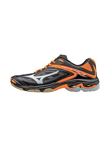 Orange Volleyball Shoes - Mizuno Women's Wave Lighting Z3 Volleyball Shoe,Black/Orange,7 B US