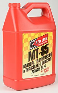 Red Line 50505 MT-85 75W85 GL-4, 1 Gallon by Red Line Oil