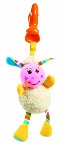 Tiny Love Smarts Clip on Toy, Lilly Lamb Lilly Lamb