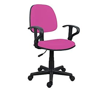 Hot Pink Office Chair With Arms Comforable Amazon Co Uk Kitchen
