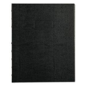 Blueline NotePro Notebook, College Rule, Black, 75 Sheets per Book, Each (6 Units)