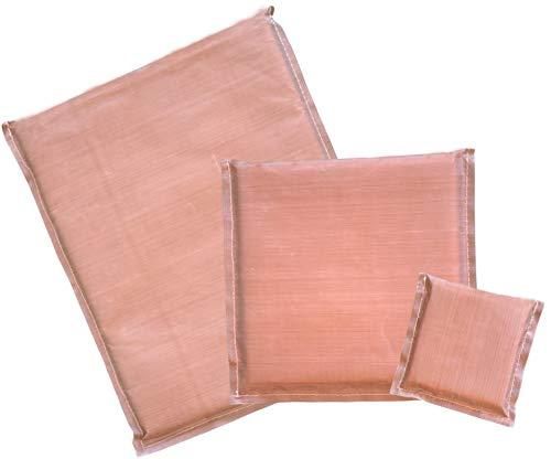 Firefly Craft Heat Press Pillow Bundle of 4 |Heat Press Accessories |Heat Press Mat | Teflon Pillow for Heat Press Pack - Includes 3 Heat Press Pillows in Sizes 15