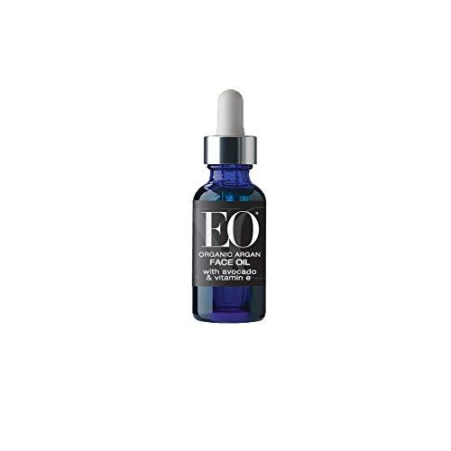 EO Ageless Skin Care Organic Argan Face Oil with Avocado and Vitamin E, 1 Ounce