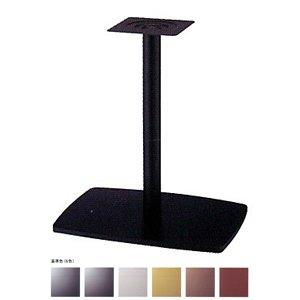 e-kanamono テーブル脚 イオンS7600 ベース600x420 パイプ101.6φ 受座240x240 基準色塗装 AJ付 高さ700mmまで ゴールドメタリック B012CF6C34 ゴールドメタリック ゴールドメタリック