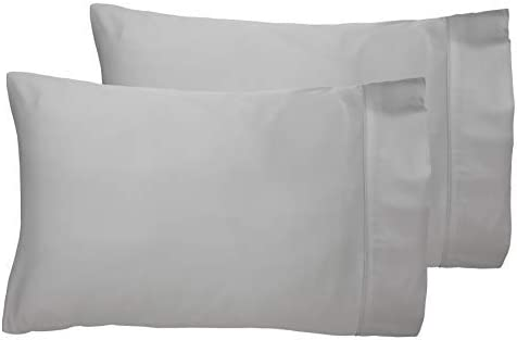 Housewife Pillowcases in Soft Grey