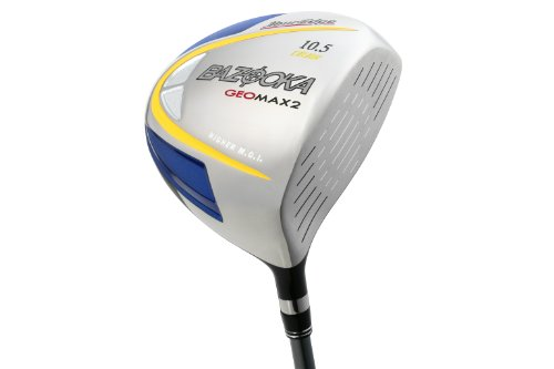 Tour Edge Men's GeoMax 2 Draw Driver (Right-Handed, 10.5 Degree Loft, Grafalloy Graphite Regular Shaft), Outdoor Stuffs