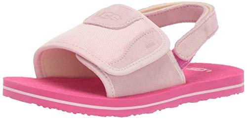 UGG Unisex T Beach Sandal, Seashell Pink, 11 M US Little Kid