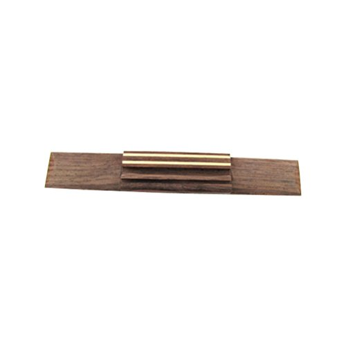 IKN 1 Set Rosewood Carved Bridge Saddle for Acoustic Classical Guitar Replacement
