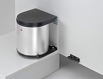 Wesco Outdoor Küchen : Wesco l abfalleimer silber schwarz küchen mülleimer